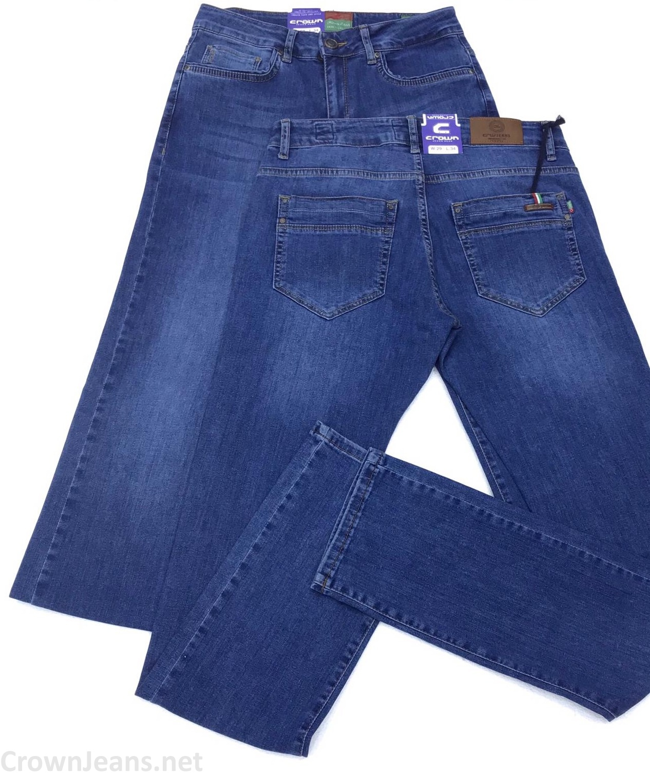 Джинсы Crown 106 Febris от Crown Jeans
